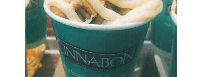 Cinnabon is one of New York Badged.