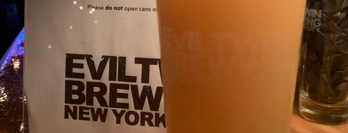 Evil Twin Brewing NYC is one of NEW DORP//NEW YORK.