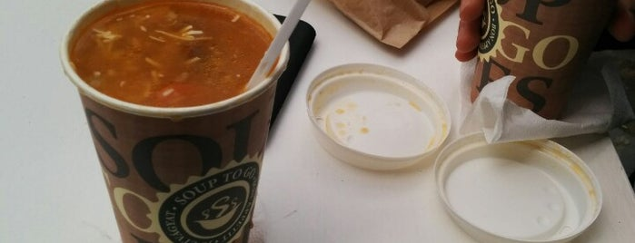 soupjektív is one of For lunch.