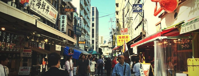 Tsukiji Market is one of Travel Guide to Tokyo.