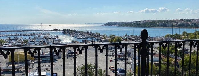 Jigger Roof Bar Wyndham Grand Kalamış Marina is one of CAFE & BISTRO.