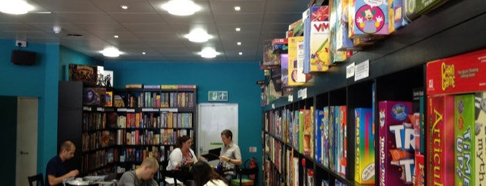 Thirsty Meeples Board Game Cafe is one of Oxford.