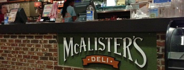 McAlister's Deli is one of Locais curtidos por Vasha.