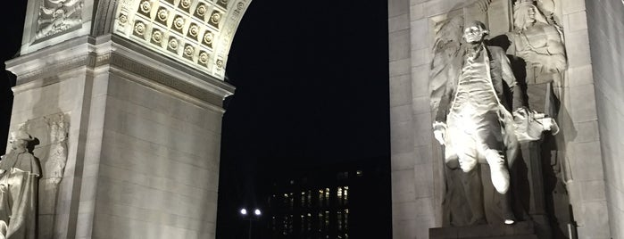ワシントン スクエア パーク is one of Nueva York.