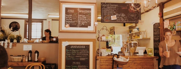 Benefit Juice Bar & Café is one of PVD + other RI.