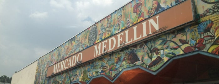 Mercado Melchor Ocampo (Medellín) is one of DF.