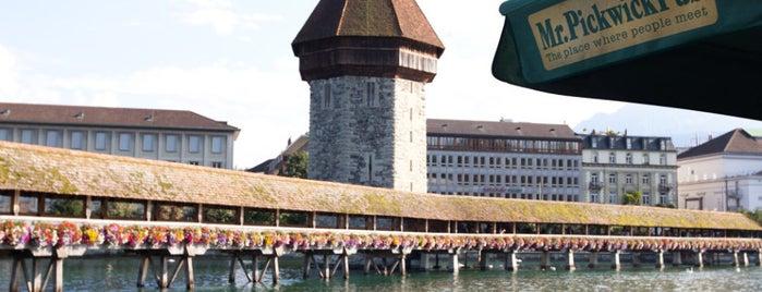 Mr. Pickwick Pub Luzern is one of Lugares favoritos de Alejandra.