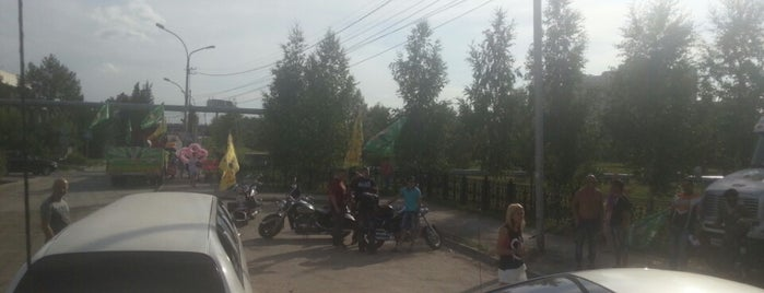 Поле Под Октябрьским Мостом is one of Для бэйджей.