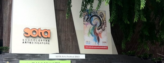 School of the Arts (SOTA) is one of Singapore.