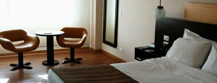 Dann Norte Hotel Bogota is one of Lieux sauvegardés par Jose Manuel.
