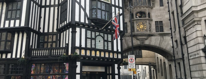 Liberty of London is one of Travel Guide to London.