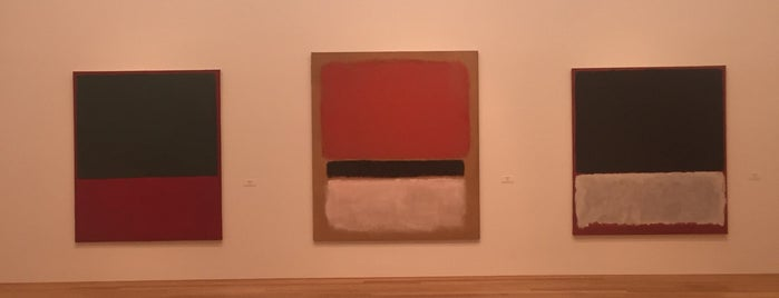 Rothko is one of Locais curtidos por Bryan.