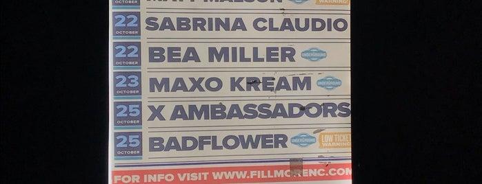 Fillmore Underground is one of Locais curtidos por Rachel.