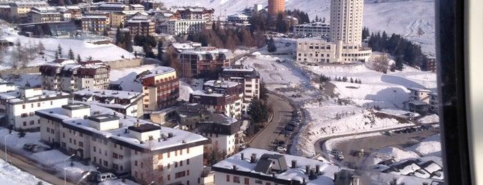 Sestriere is one of Dove sciare.