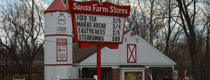 Swiss Farms is one of Margie's Liked Places.