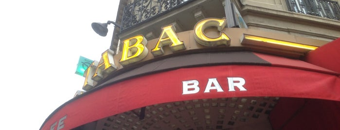 Tabac is one of Places we went in Paris.