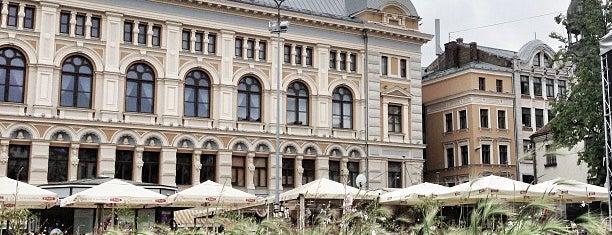 Līvu laukums is one of Riga.