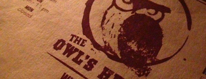 The Owl's Head is one of NYC Wine Bars.