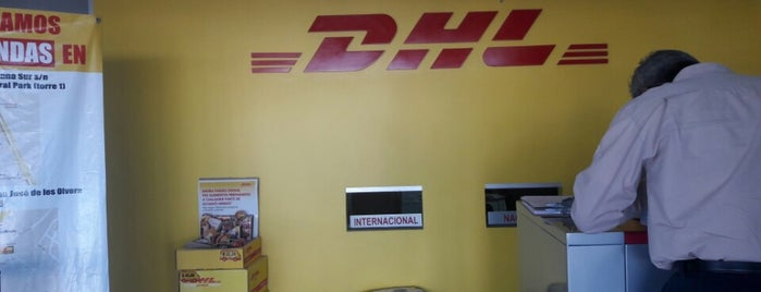DHL Express is one of Locais curtidos por Sergio M. 🇲🇽🇧🇷🇱🇷.