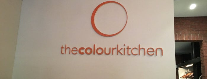 The Colour Kitchen is one of Bram'ın Beğendiği Mekanlar.