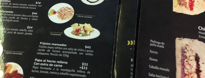 """Sonora Street Food """"Percherones"""" is one of To try."""