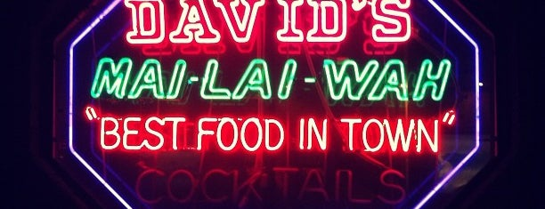 David's Mai Lai Wah Chinese is one of Philly.