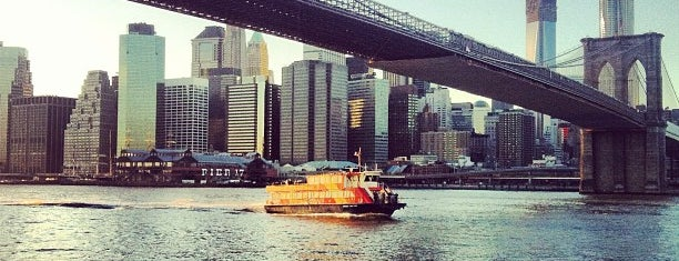 East River Ferry is one of Big Apple Venues.