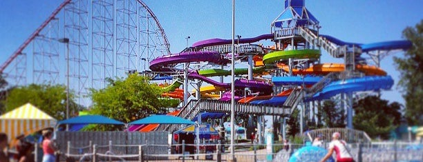 Cedar Point Shores Water Park is one of 416 Tips on 4sqDay 2012.