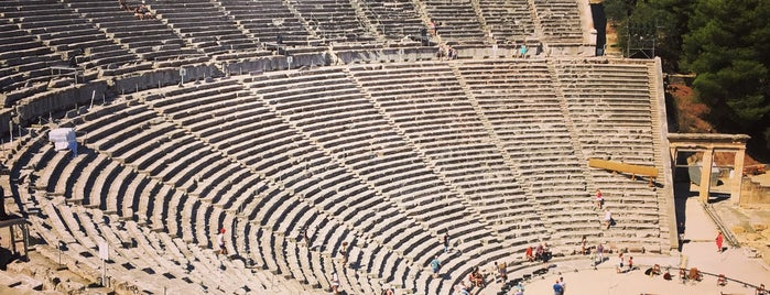 Epidaurus Ancient Theatre is one of [To-do] Greece.