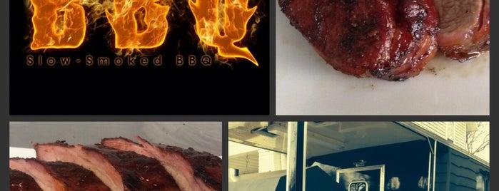 Daddy Pete's BBQ, LLC is one of Tempat yang Disimpan Joey.