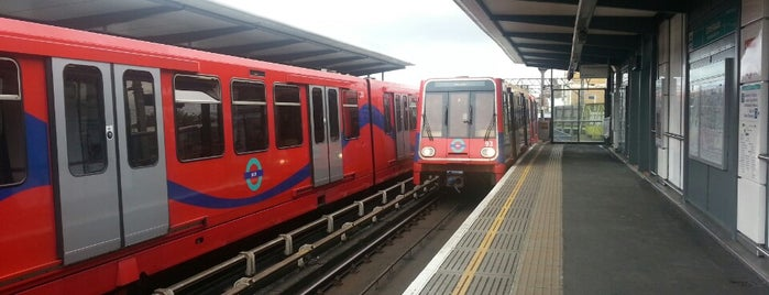 Limehouse DLR Station is one of United Kingdom, UK.