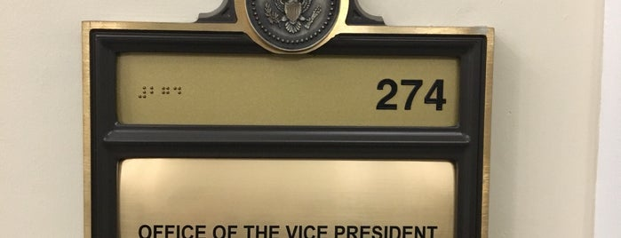 Office of the Vice President is one of Washington, DC.