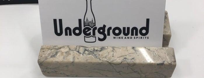 Kit's Underground Wines & Spirits is one of Tempat yang Disukai Michael.
