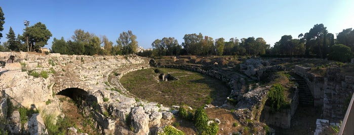 Anfiteatro Romano is one of Sicilia.