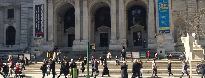 New York Public Library is one of The New Yorkers: Extracurriculars.