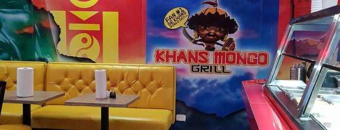 Khans Mongo Grill is one of Ivonne 님이 좋아한 장소.