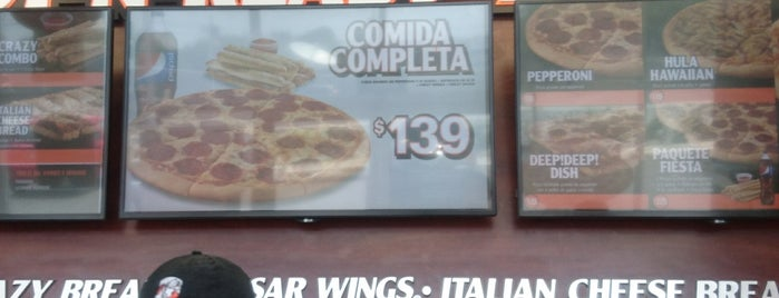 Little Caesars Pizza is one of Lugares favoritos de Ismael.