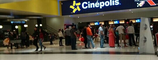 Cinépolis is one of Ismaelさんのお気に入りスポット.