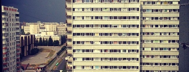 Общежитие РНИМУ им. Н. И. Пирогова is one of สถานที่ที่บันทึกไว้ของ Akiman.