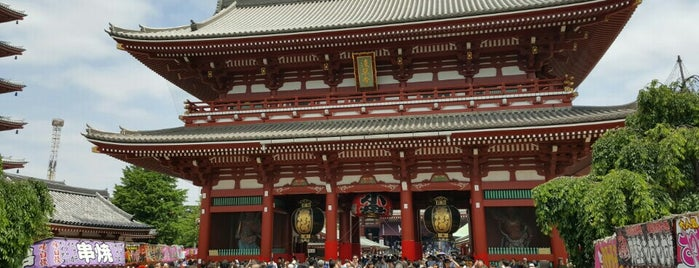 Senso-ji Temple is one of Travel Guide to Tokyo.