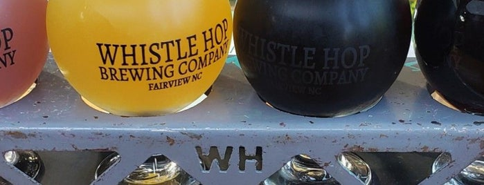 Whistle Hop Brewing Company is one of North Carolina.