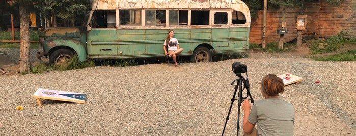 Chris MacCandless Bus 142 is one of Before you die.