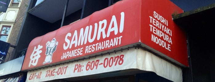 Samurai Japanese Restaurant is one of Vancouver Restaurants.