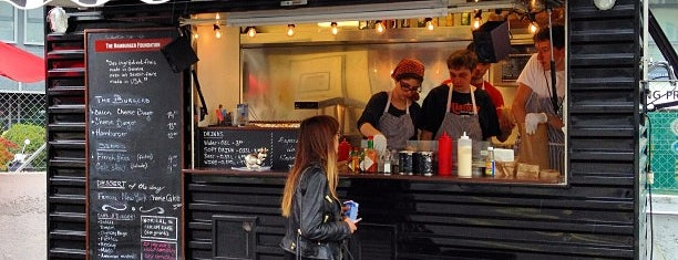 The Hamburger Foundation FOOD TRUCK is one of Foodie places in Geneva area.