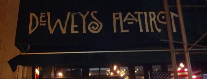 Dewey's Flatiron is one of Drinkup - Monday's a Holiday!.