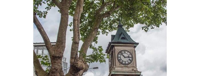 Thornton Heath Clocktower is one of The Stones of Croydon.