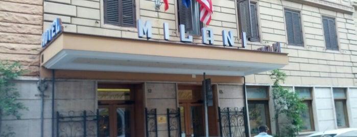 Hotel Milani Rome is one of Locais curtidos por L.
