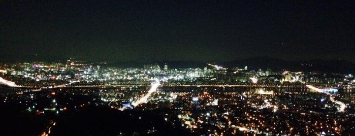N Seoul Tower is one of Seoul Korea.