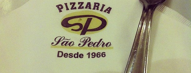 Pizzaria São Pedro is one of Fabio Henrique : понравившиеся места.