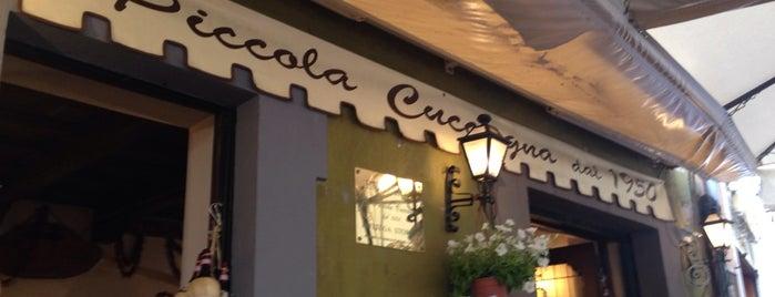 La Piccola Cuccagna is one of Lieux qui ont plu à Natalia.